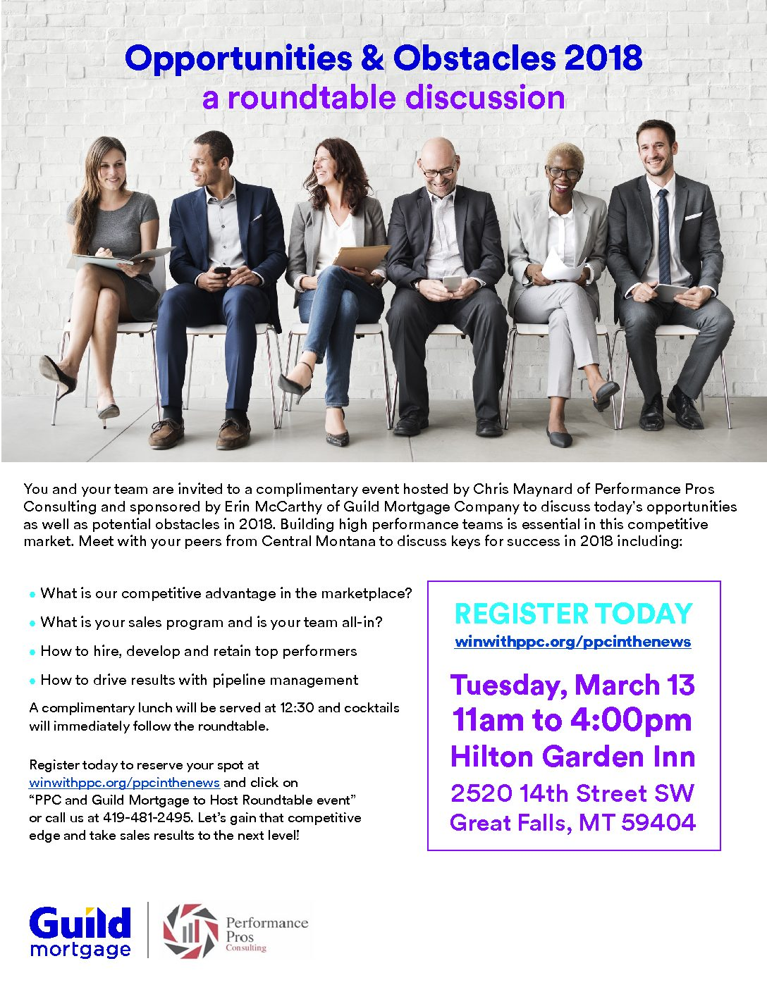 PPC and Guild Mortgage Roundtable event